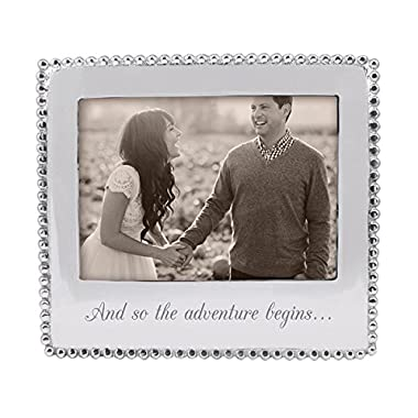Mariposa 3911AD and So the Adventure Begins Frame, 5  x 7 , Silver