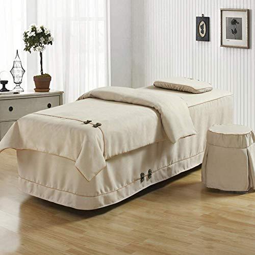 KSWD 4-stück Bettwäsche aus Baumwolle Beauty-Bett-Abdeckung Weiches Hautfreundliche...