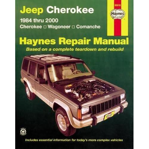 2001 jeep cherokee xj service repair manual instant download