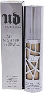 Urban Decay All Nighter Liquid Foundation for Women, 3.25 Light, 1 Ounce