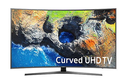 Samsung Electronics UN65MU7500 Curved 65-Inch 4K Ultra HD Smart LED TV...