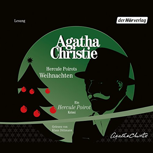 Hercule Poirots Weihnachten audiobook cover art