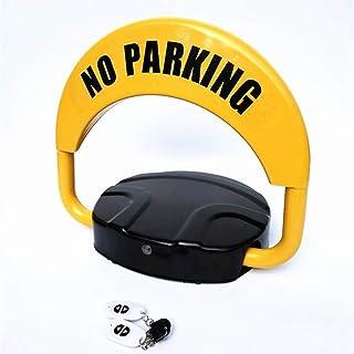 FGH QPLKKMOI Remote Controlled Parking Lock, Private Car Parking Latch, Smart Bluetooth Sensor Parking Blocker and Space