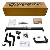 Enganche de Remolque extraíble Westfalia AHK para Dacia Duster (año de fabricación 03/2010 – 12/2017) en Juego con 13 Polos específicos para el vehículo