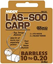 Middy Las-Soo Carp Barbless  8 to  0.22