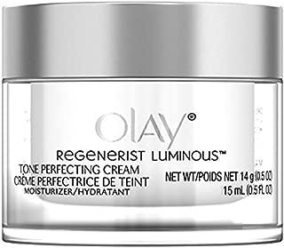 Olay Regenerist Luminous Tone Perfecting Cream, 0.5 Ounce (Pack of 6)