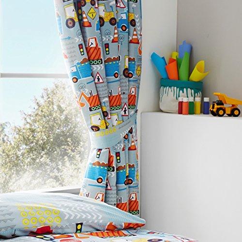 Happy Linen Company Set de Cortinas Infantiles de galón Fruncido - Estampado...