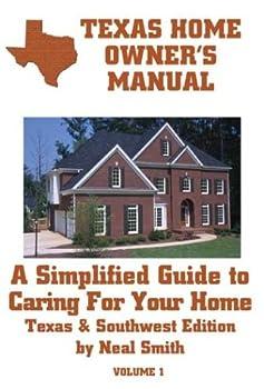 Paperback Texas Homeowner's Manual Book