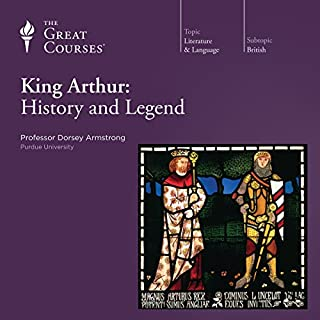 King Arthur: History and Legend audiobook cover art