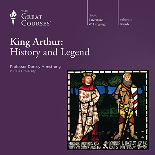 Page de couverture de King Arthur: History and Legend