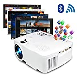 ERISAN Projector Video Home TV Theater, LED Android WiFi Bluetooth, 220 ANSI Lumen, Support 1080P...