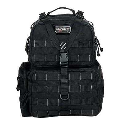 G.P.S. Tactical Range Backpack, Black