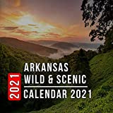 Arkansas Wild: 12 Month Mini Calendar from Jan 2021 to Dec 2021, Cute Gift Idea | Pictures in Every Month