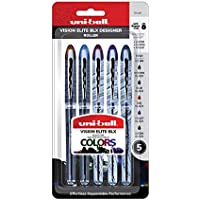 3-Count uni-ball Vision Elite BLX Infusion Rollerball Pens