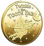 HARPIMER Moneda Tooth Fairy Moneda Conmemorativa para Niños Regalos para Bebés Recuerdo (2 Unidades)