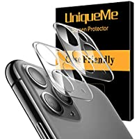 2-Pack UniqueMe Tempered Glass Lens Protector for iPhone 11 Pro & 11 Pro Max
