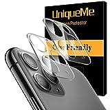 [2 Pack] UnqiueMe Panzerglas Kamera für iPhone 11