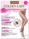 Goldenlady Mysecret 15 Cosmetic Medias, 15 DEN, Dorado (Bronzer K30a), X-Large (Talla del ...