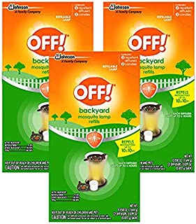 OFF! Mosquito Lamp Refill, 2 CT (Pack - 3)