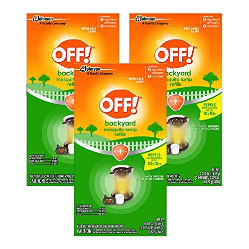 OFF! Mosquito Lamp Refill, 2 CT (Pack of 3)