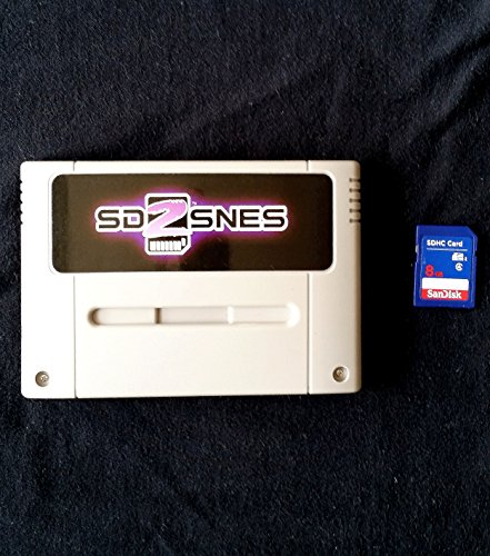 SD2SNES Everdrive Super Nintendo + 8gb sd card - SNES Famicom Super Nes
