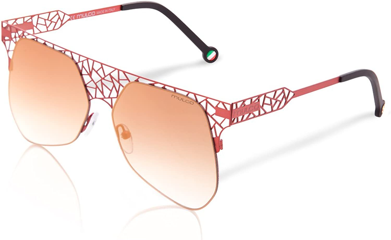 Mulco Web Drop C063 Red Frame   Red Lens 55 mm Sunglasses