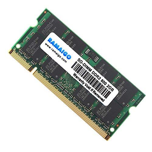 GUOJIAYI Memoria RAM de 4 GB PC2 DDR2 667 MHz 800 MHz 5300s 6400s para ordenador portátil