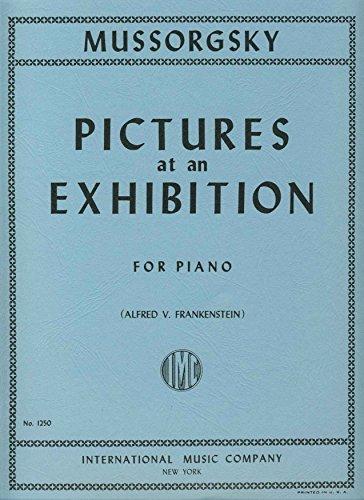 MOUSSORGSKY - Cuadros de una Exposicion para Orquesta de Cuerdas (Partitura y Partes) (Del Borgo)