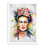 Wall Editions Art-Poster - Frida Kahlo - Tracie Andrews