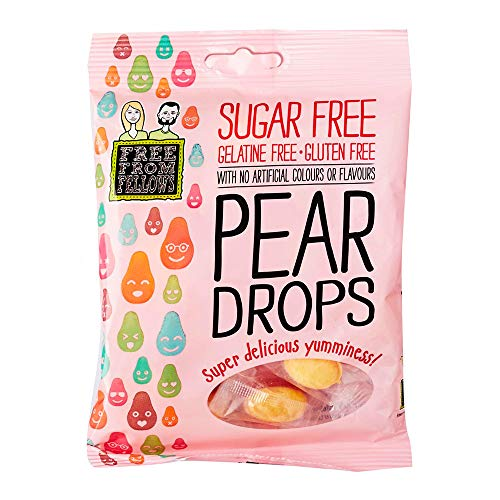 Free From Fellows Sugar Free Pear Drops Sweets 2.46oz