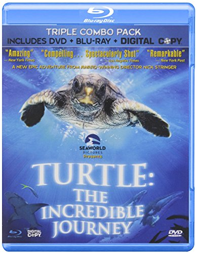 Turtle: The Incredible Journey ( Blu-ray/DVD/Digital Copy ) [Blu-ray]