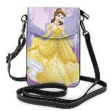 shenguang Beauté bête léger petit sacs à bandoulière en cuir sacs à main pour téléphone portable pochette de voyage sac à bandoulière portefeuille avec fentes pour cartes de crédit pour femm