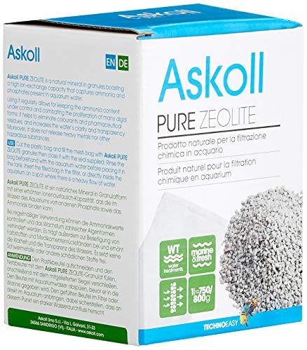 Askoll 922977 Pure Zeolite per filtrazione Chimica in Acquario 1 litro (750 800g)