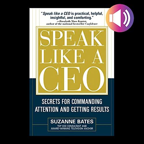 Speak Like a CEO cover art