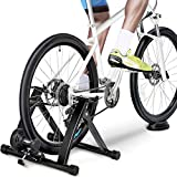 Yaheetech Magnetic Bike Trainer Stand Premium Steel Bike Bicycle Indoor Exercise Bike Stationary...