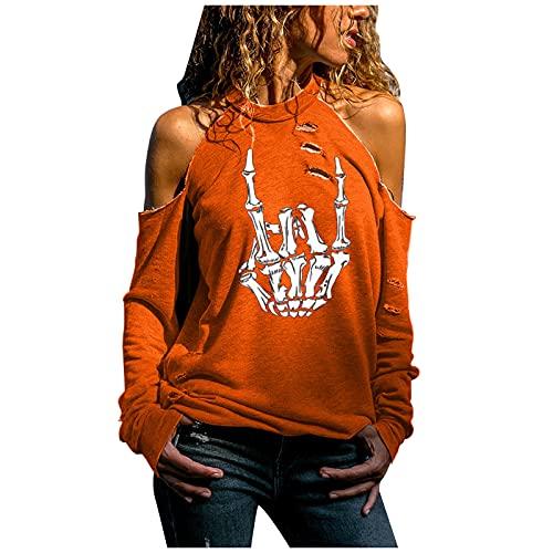 Herren und Damen T-Shirt Palm Angel Kurzarm Casual Buchstaben mit Rundhalsausschnitt aus Baumwoll Fledermausärmeln Sommeroberteile Kurze Ärmel Hemden mit kreativen Buchstaben Halloween Sweatshirt