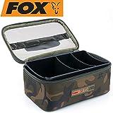 FOX Camolite Rigid Lead and Bits Bag 23x15x10cm - Tackletasche zum Karpfenangeln, Angeltasche für...