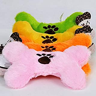 DORLIONA Dog Toys Training Large Dog Treat Toy Donut Interactive Games Bone Plush Incentive Ball pet Stick chew Game Toys ...