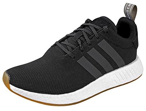 adidas Originals Zapatillas Deportivas para Hombre NMD_r2, Color Negro, Talla 37 EU