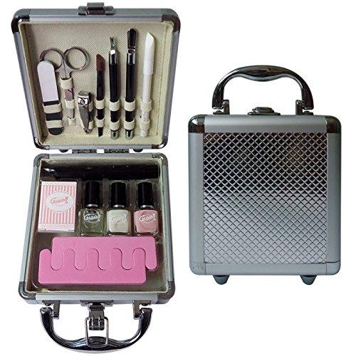Gloss! Make-up Schminkkoffer - Beauty Nails - 14 teiliges, 1er Pack (1 x 480 g) Geschenk-Box - Make-up Kit