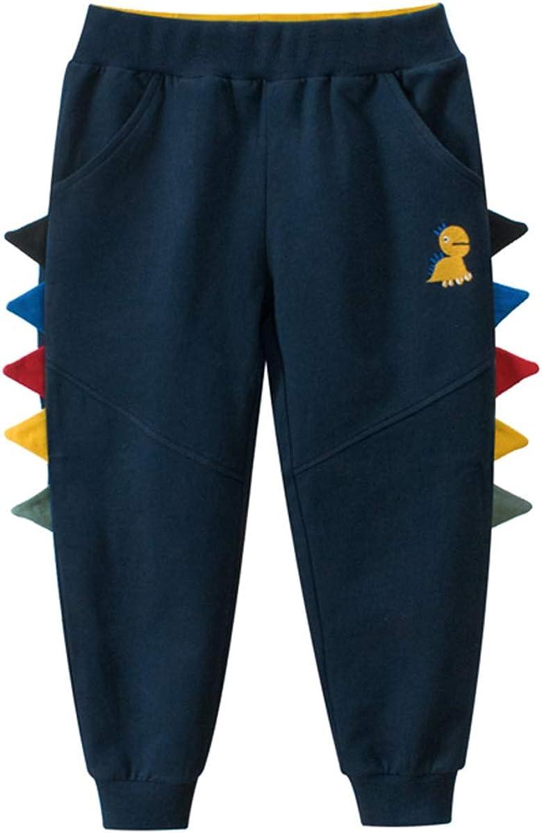 Baby Boys Girls Cotton Elastic Waist Sports Pants White Strips P