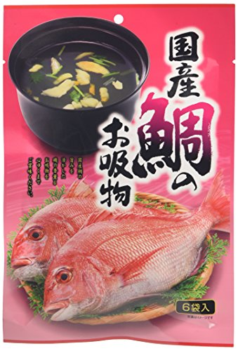 コスモ食品 みなり 国産鯛のお吸物 6P 20.4g [3663]
