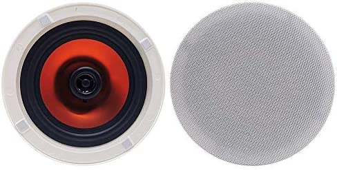Herdio 6 5 Flush Mount in Wall in Ceiling 2 Way Universal Home Bluetooth Speakers 300Watts Max product image