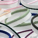 FUJIYAMA RIBBON パイピング ブライト 7mm ブラック ホワイト 9.14M巻 手芸 服飾