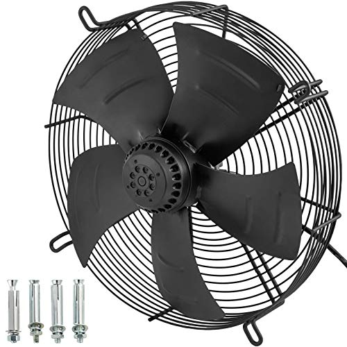 Daily Accessories Industrial Extractor 16 Inch Metal Axial Exhaust Ventilation Commercial Air Blower Fan 4800m3/h Smart Vent Wall Fans Fume Extractor