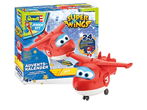 Revell Junior Kit Super Wings Adventskalender Jett 01024