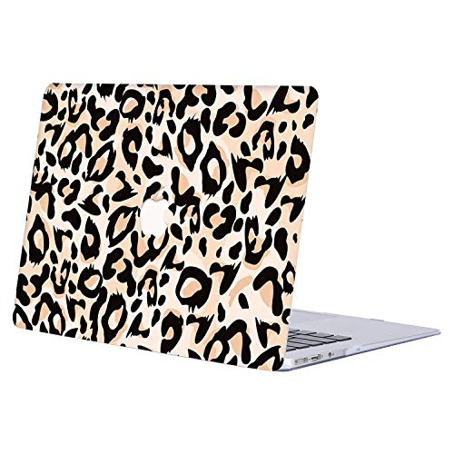 MacBook Air 11 inch Case,AJYX Ultra Thin Plastic Hard Case Protective Shell Cover for MacBook Air 11 inch Model A1370/A1465,R836 Leopard 3