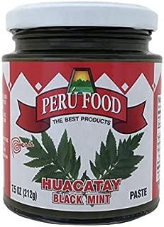 Peru Food Huacatay Black Mint Paste 7.5 Oz.