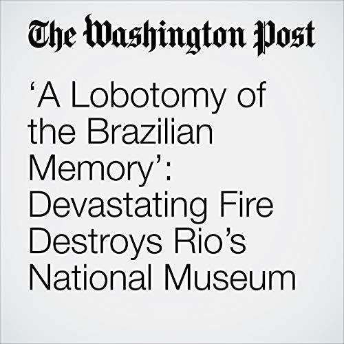 'A Lobotomy of the Brazilian Memory': Devastating Fire Destroys Rio's National Museum copertina