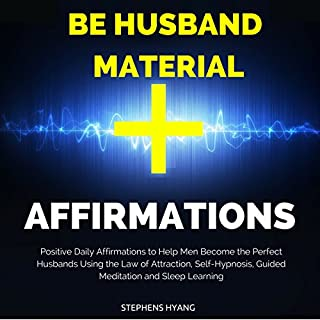 Be Husband Material Affirmations audiobook cover art